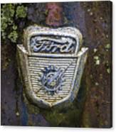Ford Emblem Canvas Print