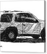 Ford Explorer Canvas Print