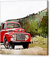 Ford F-1 Canvas Print