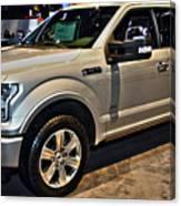 Ford F150 Fx4 Platinum Canvas Print