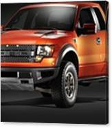 Ford F150 Svt Raptor Canvas Print