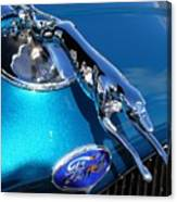 Ford Greyhound Hood Ornament Canvas Print