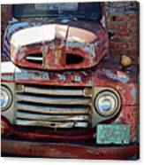 Ford In Goodland Canvas Print