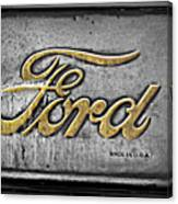 Ford Made In The Usa Canvas Print