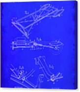 Ford Motor Vehicle Drawing 1b Canvas Print
