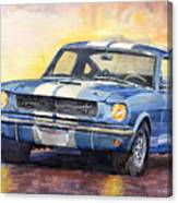 Ford Mustang Gt 350 1966 Canvas Print