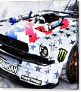 Ford Mustang Hoonicorn - 04 Canvas Print