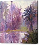 Ford Park-cloudy Morning Canvas Print