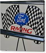 Ford Racing Emblem Canvas Print
