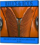 Ford 14 - Relics And Rods Canvas Print