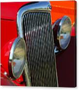 Ford Roadster Grille Canvas Print
