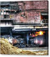 Ford Rouge Plant Steelmill Canvas Print