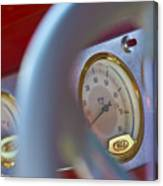 Ford Speedometer Canvas Print