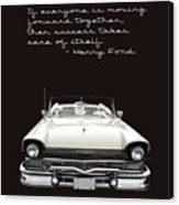 Ford Success Poster Canvas Print