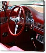 Ford Thunderbird 57 Interior Canvas Print