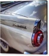 Ford Thunderbird Fender Color  Canvas Print