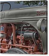 Ford Tractor Antique Canvas Print