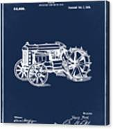 Ford Tractor Patent 1919 Canvas Print