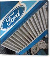 Ford Tuff Canvas Print