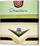 Ford V8 Pickup Emblem Canvas Print
