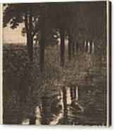 Forellenweiher (trout Pond) Canvas Print