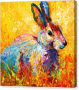 Forest Bunny Canvas Print