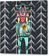 Forest Spirit, Forest Keeper Canvas Print