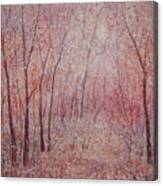 Forest Stillness. Canvas Print