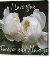 Forever And Always Canvas Print
