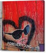Forever Young At Heart  Canvas Print
