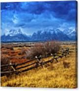 Forgotten Fence Canvas Print