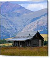 Forgotten Homestead Canvas Print