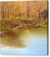 Forgotten Lake Canvas Print