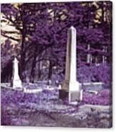 Forgotten Monuments Canvas Print