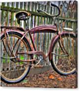 Forgotten Ride 1 Canvas Print