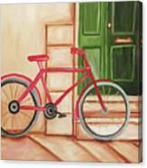 Forlorn Bike Canvas Print
