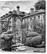 Formal Gardens Canvas Print