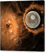 Formation Of New Planets Canvas Print