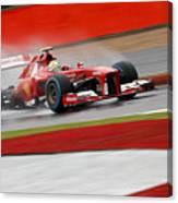 Formula 1 British Grand Prix Canvas Print