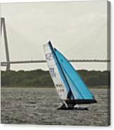 Formula 18 Sailing Cat Big Booty Charleston Sc Canvas Print