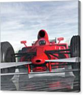 Formula One Racer Canvas Print