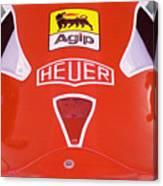 Formula Red Canvas Print