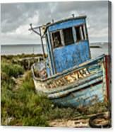 Forsaken Fishing Boat Canvas Print