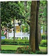 Forsyth Park Inn In Savannah  3205 Canvas Print