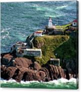 Fort Amherst At St. Johns New Foundland Canvas Print