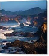 Fort Bragg Coastline Canvas Print