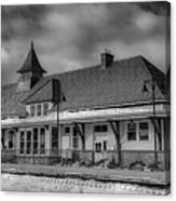 Fort Edward Train Station Canvas Print