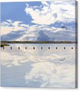 Fort Fisher Reflection Canvas Print