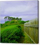 Fort Fisher Terrain Canvas Print