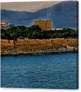 Fort Guvercinada On Canvas Canvas Print